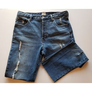 Destructed Gap Jeans